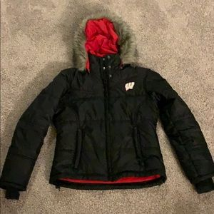 Columbia University of Wisconsin winter jacket